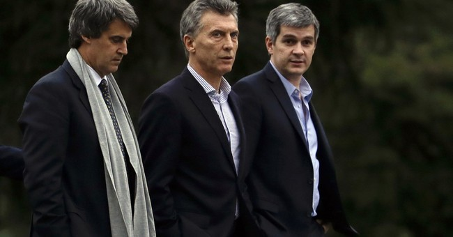 Argentine president shakes up economic team