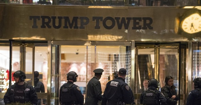 Stray bag of toys prompts scare at Trump Tower