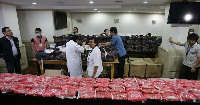 Philippines: Series of drug raids seize nearly a ton of meth