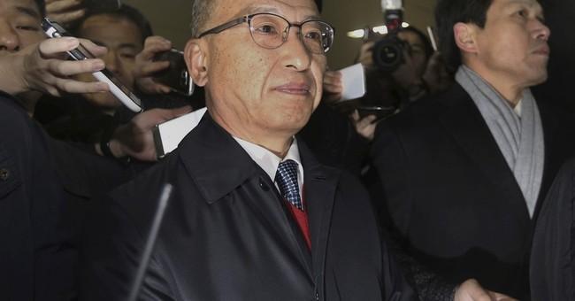 SKorean investigators detain ex-health minister
