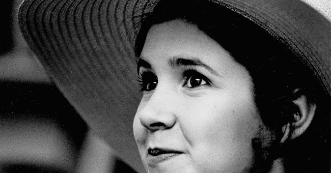 AP PHOTOS: A look at Carrie Fisher through the years