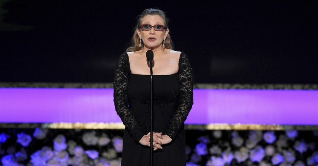 Fans create impromptu Hollywood star for Carrie Fisher