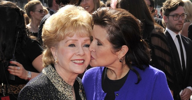 Did Debbie Reynolds die of broken-heart syndrome?