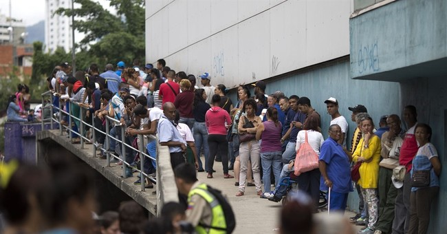 Venezuela military trafficking food as country goes hungry
