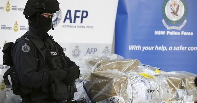 Australian police seize 1 ton of cocaine, arrest 15 men