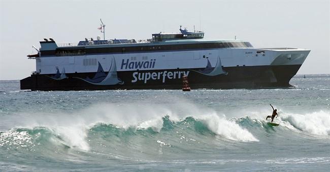 Hawaii ferry dreams face cost, public opinion hurdles