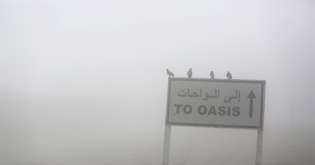 Fog engulfs parts of United Arab Emirates, delaying flights