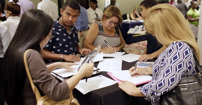 Weekly applications for US jobless aid fall to 265,000