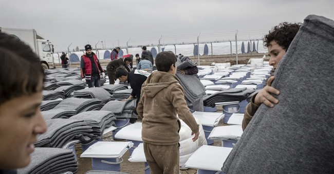 Rain, cold cause misery for Iraq's displaced