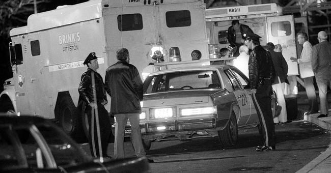Governor: Brinks heist getaway driver eligible for parole