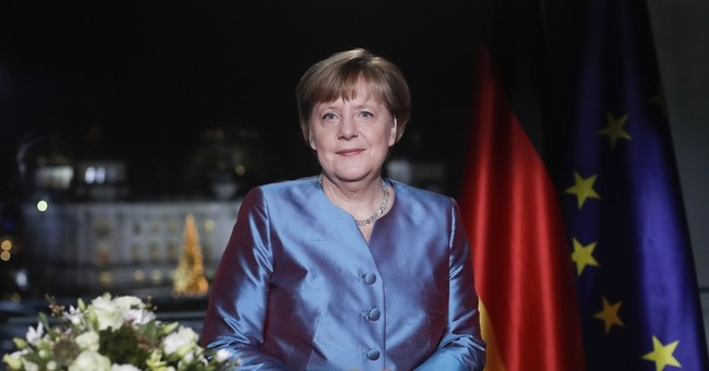 Merkel tells Germans their country is stronger than terror