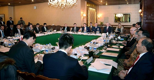 Afghanistan meeting ends with call for talks with Taliban