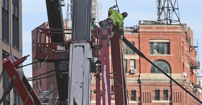 The Latest: Cause of crane collapse could take weeks to know