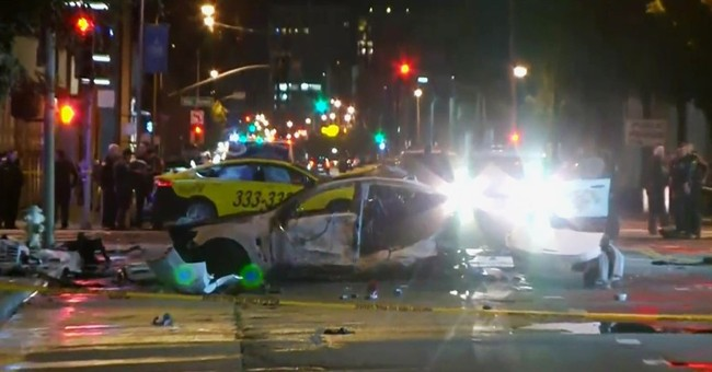 3 killed after brief police chase in San Francisco streets
