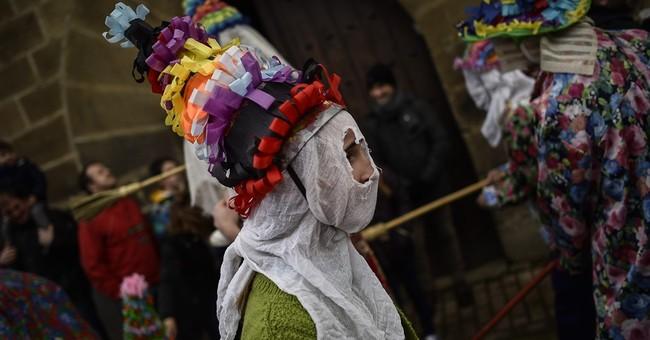 Spanish village of Lantz celebrates clash between good, evil