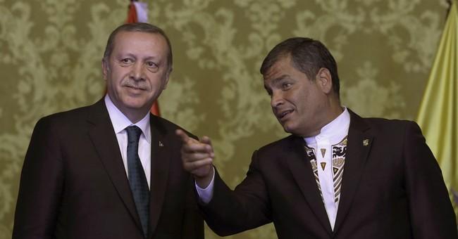 Erdogan: US should choose between Turkey, Kurdish forces