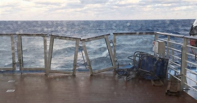 Coast Guard to decide if storm-damaged cruise ship can sail