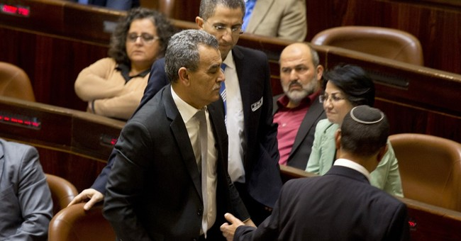 Israeli parliament suspends Arab MPs who met attackers' kin
