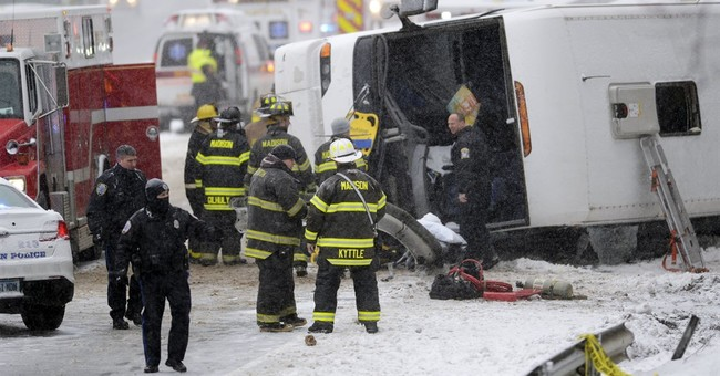 More than 30 injured in Connecticut casino bus crash