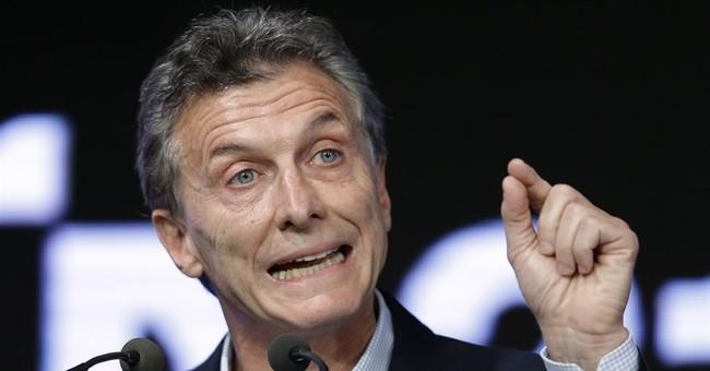 Argentine president promises to crack down on drugs