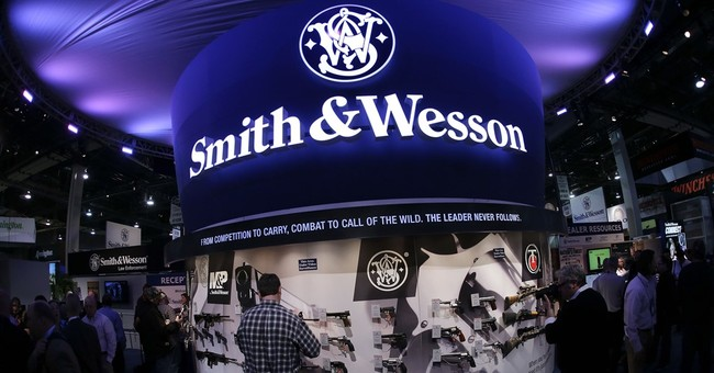Severe sell-off does not slow rise in shares of gunmakers