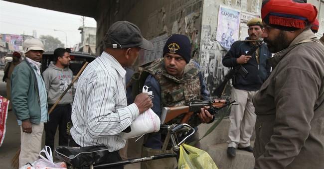 At least 1 gunman still remains at Indian air force base