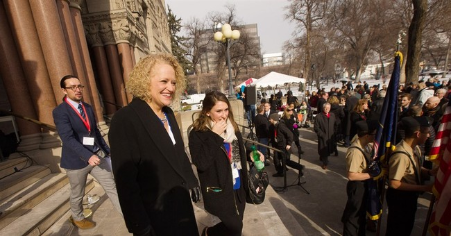 Salt Lake City's first openly gay mayor sworn into office