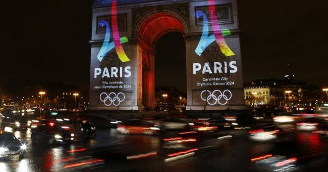 Paris secures sponsors; presents logo for 2024 Olympic bid