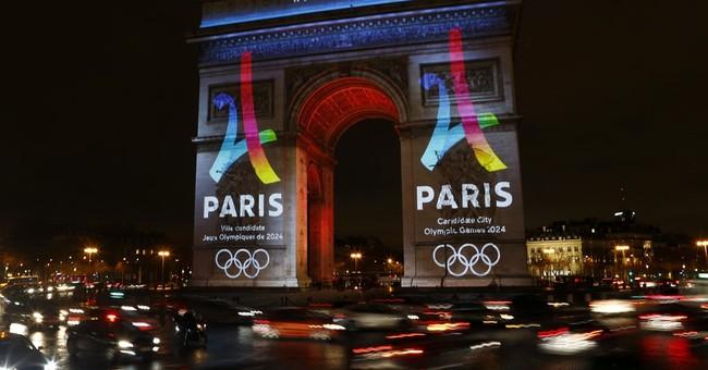 Paris secures sponsors; presents logo for 2024 Olympic bid