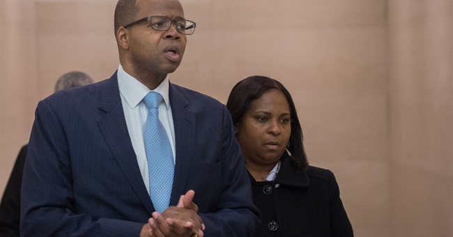 Jury weighs fate of NY officer charged in stairwell shooting