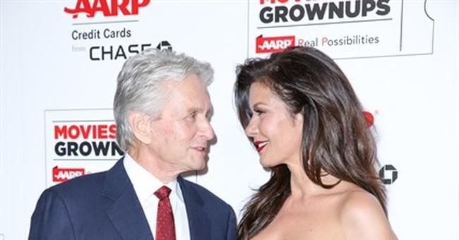 Michael Douglas among film stars honored by AARP