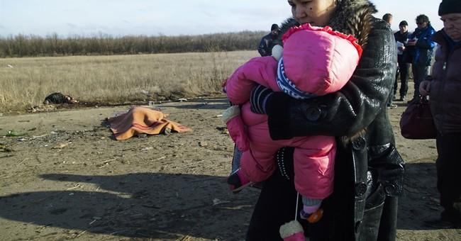 3 people killed by land mine in eastern Ukraine