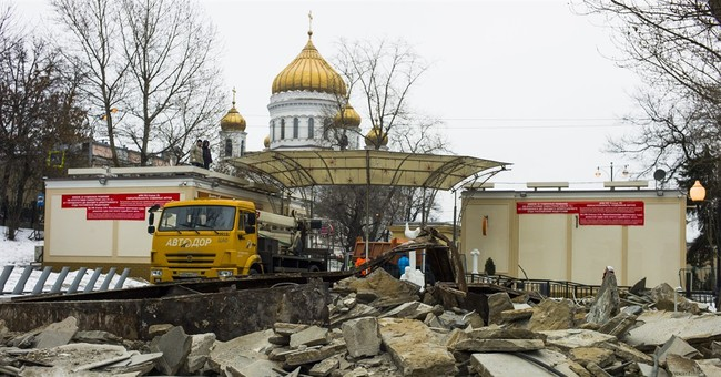 Moscow small businesses razed, sparking anger
