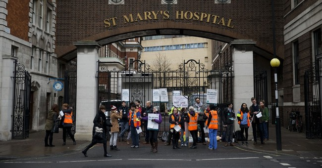 England's junior doctors go on strike as contract talks fail