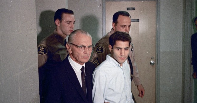 The Latest: Assassin of Robert Kennedy denied parole