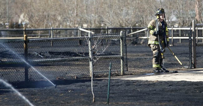 Oklahoma wildfires threaten homes; smoke risky for drivers