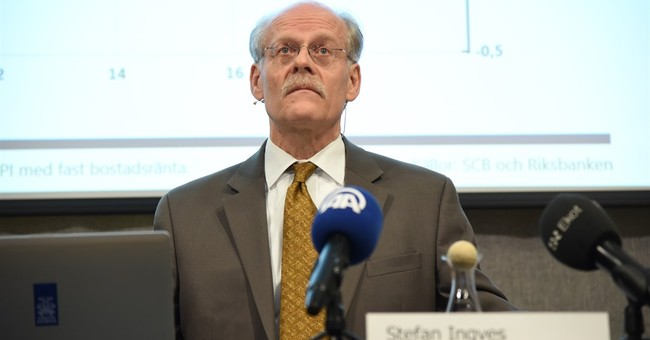 Sweden cuts key interest rate further below zero