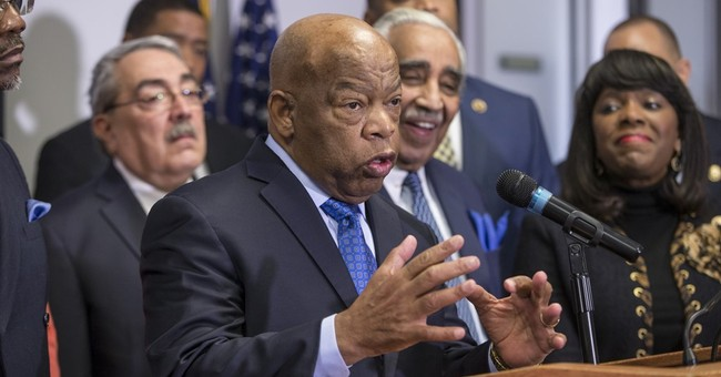 John Lewis on Sanders' civil rights work: 'Never saw him'