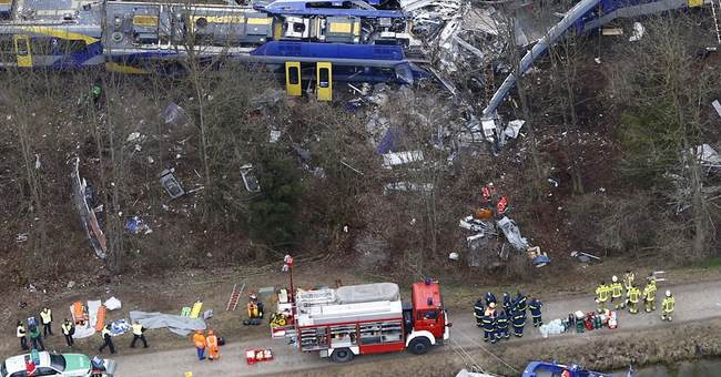German police say death toll from train crash rises to 11