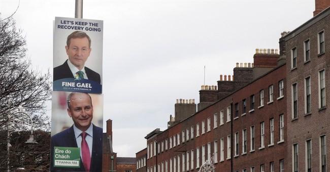 Adams isolated as Irish leaders debate ahead of Feb. 26 vote