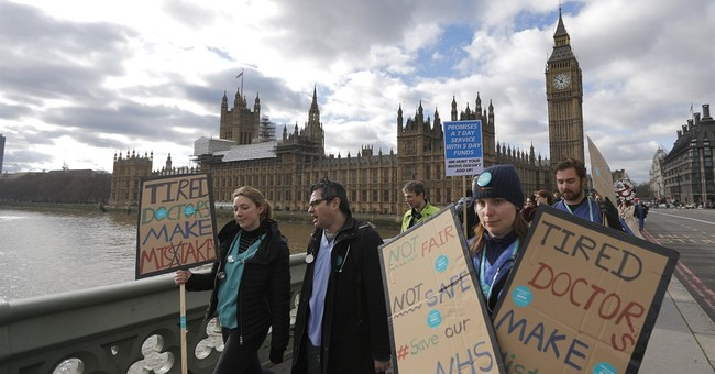 UK health secretary to impose contract on junior doctors