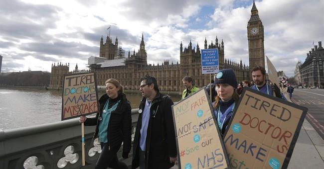UK health secretary to impose contract on junior doctors