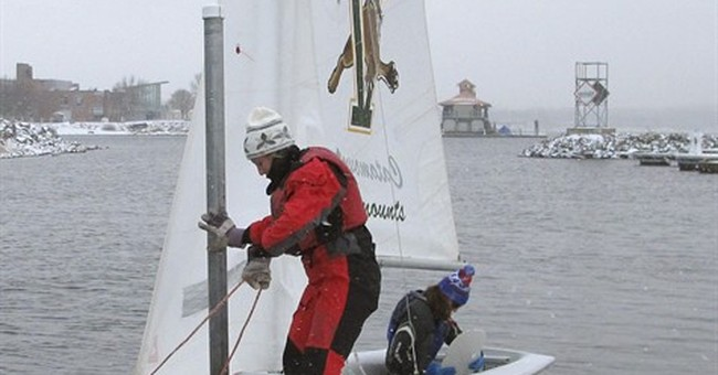 No thaw needed: Winter grants Vermont sailors an early start