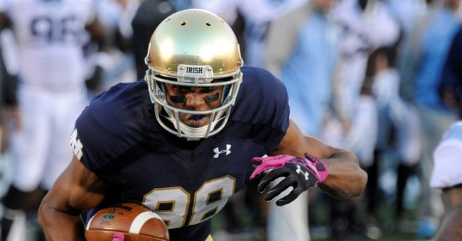 Robinson 1st Notre Dame football player elected president