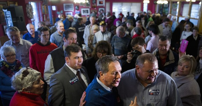 Kasich works to assure South Carolina of conservative record