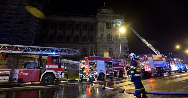 Czech National Museum in Prague hit by fire