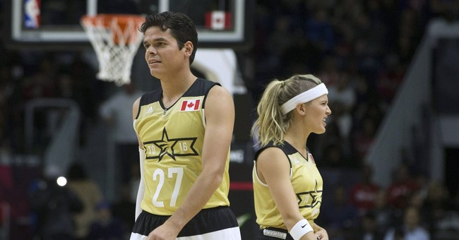 Canada tops US in All-Star celebrity game, 74-63