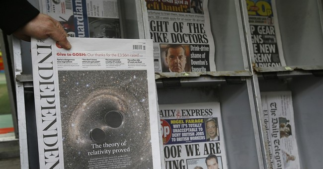 Britain's Independent newspaper to cease print editions
