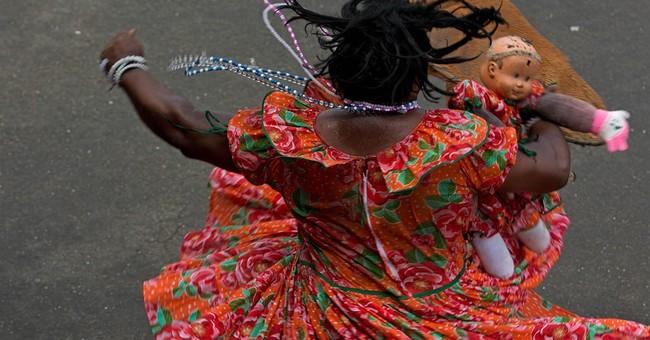 AP PHOTOS: Pernambuco's unique carnival in maracatu's cradle