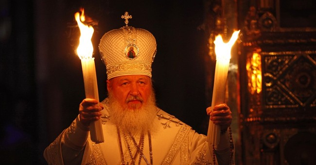 In meeting Pope Francis, patriarch asserts Russia's role